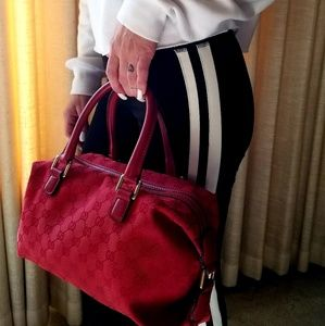 Gucci Bags - BF*SALE!Authentic, Gorgeous & Rare Red Gucci Purse